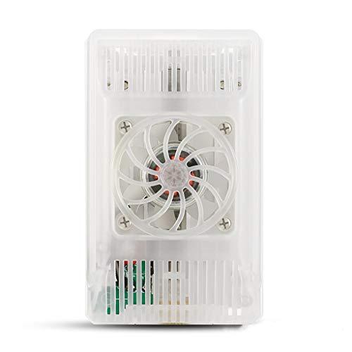 Yoging - Radiador portátil para tablet de teléfono móvil, ventilador de iluminación de refrigeración por clip, soporte de disipador térmico ligero y antiruido