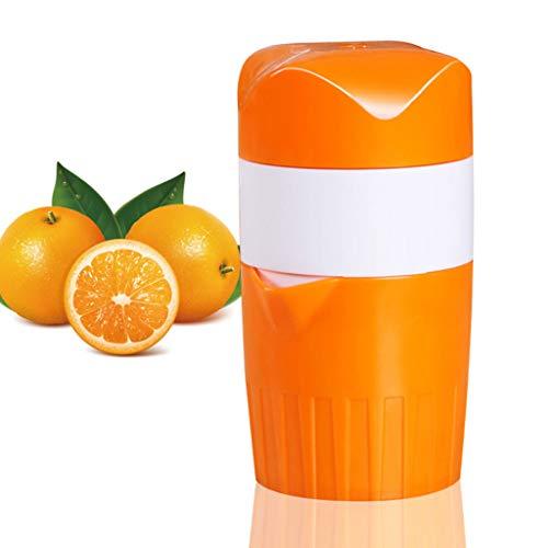 Fikujap Juicer de Mano, exprimidor multifunción portátil, rotación de Tapa Manual Press Welle, para cítricos Naranja, limón, Pomelo, Herramienta de Jugo de Bricolaje