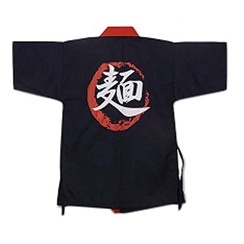 Black Temptation Japanisches Restaurant Kellner Kleidung halbe Ärmel Uniform Sushi Kochjacke #19