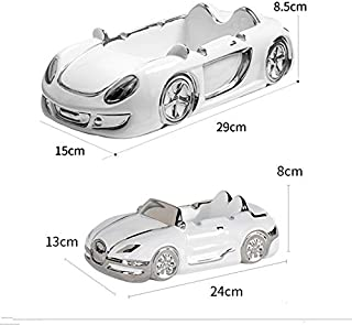 SP-Xhz Ceramic Ashtray Creative Men's Car Desktop Decorations (Color : Gold, Size : 29×15×8.5CM)