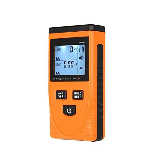 RGBS EMF-Messgerät, elektromagnetischer Feld-Strahlungsmelder, Handgerät, klein, digital, LCD-EMF-Detektor, Dosimeter, Tester, Zähler