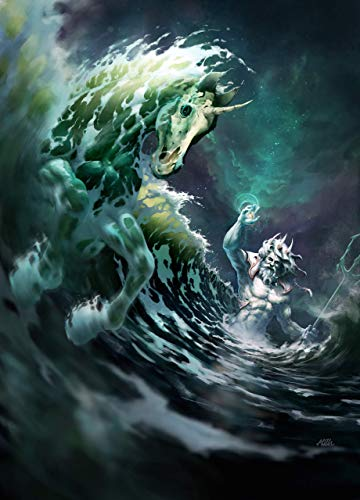 Poseidon The God Of Sea And Earthquakes