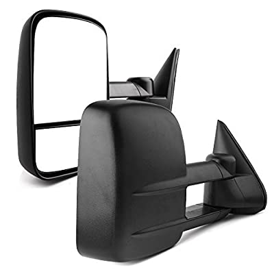 YITAMOTOR Towing Mirrors Compatible with Chevy GMC 1999-2006 Silverado Sierra (2007 Classic Only) , 2000-2006 Chevy Tahoe Suburban 1500 2500 GMC Yukon XL Truck