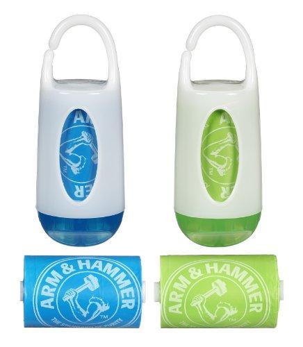 Munchkin Arm & HammerDiaper Bag Dispenser and Bags, 2-Count by Munchkin
