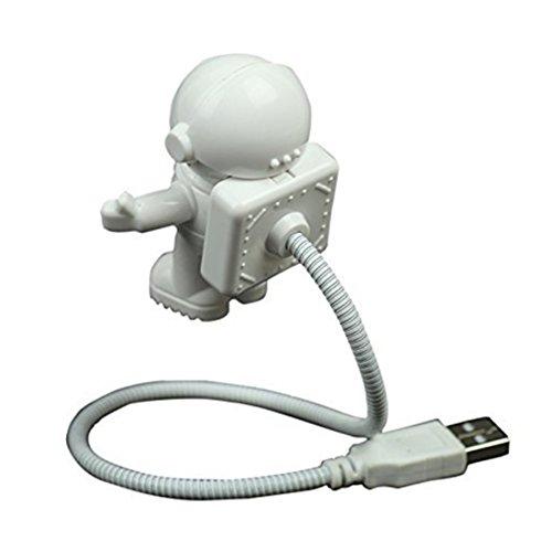 rongwen Schöne Astronaut Spaceman USB Einstellbare Nachtlicht für Computer PC Lampe LED
