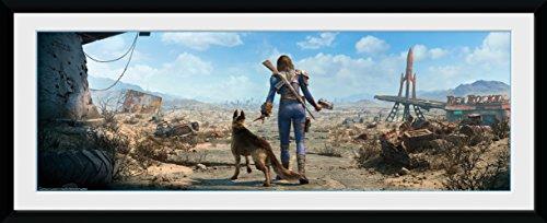 GB Eye LTD, Fallout, Ultimo superviviente Femenino, Fotografía enmarcada 30x75 cm