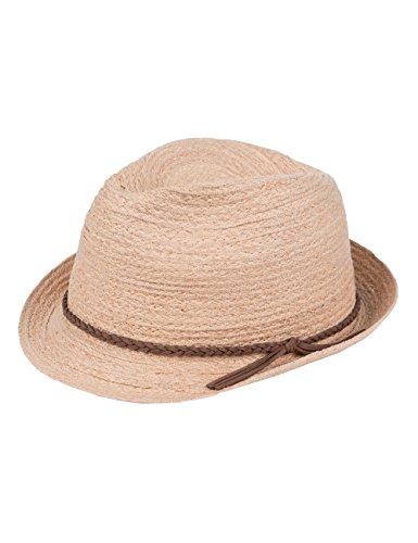 CaPO Puerto Rico Hat Sombrero Fedora, Beige (Ecru 2), Large Unisex Adulto