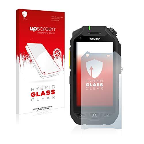 upscreen Hybrid Glass Panzerglas Schutzfolie kompatibel mit RugGear RG725 9H Panzerglas-Folie