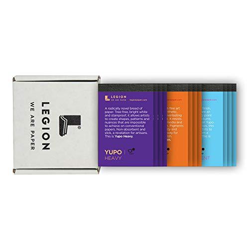 Legion Mini Pad Sampler Set: 12 Yupo Artist Pads, 2.5 by 3.75 Inches Each (L21-MINIPADKITYP)