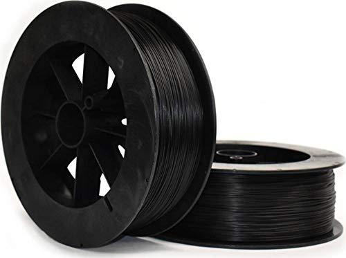 NinjaFlex 3DEL0129005 Eel Filamento per stampante 3D TPU flessibile, resistente ai prodotti chimici 2.85 mm 500 g Nero