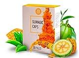 Slimagic Caps 30 Kapseln Gewichtsabnahme Fettverbrennung Entschlackung 12,78g