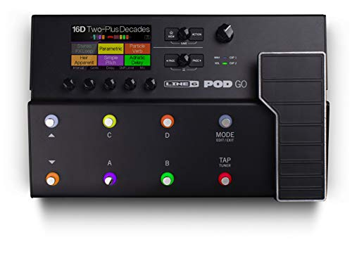 Line 6 POD Go Guitar Multi-Effects Pedal