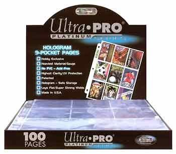 9 Pocket Pages - Ultra Pro Platinum (10)