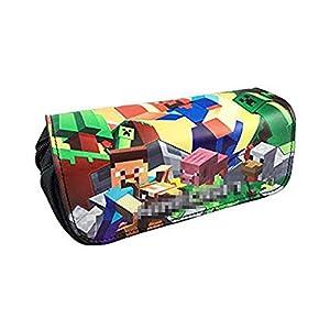 Minecraft Creeper Premium Adult Zip-Up Hoodie Large: Amazon.es: Juguetes y juegos