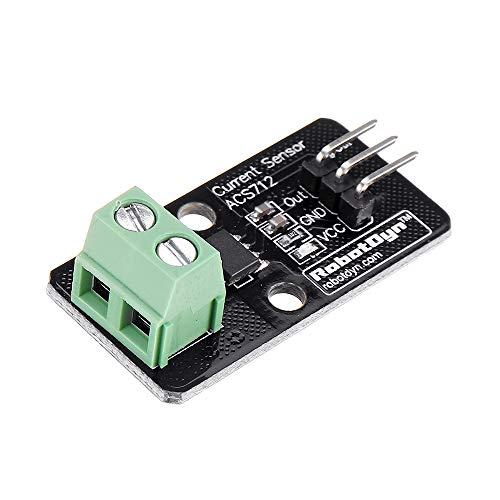ILS - 3 Stück Current Sensor ACS712 5A Modul für Arduino - Produkte kompatibel mit offiziellen Arduino-Karten