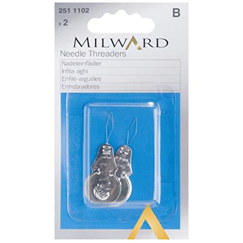 MILWARD - Filettatrici per ago, taglia unica, colore: Argento
