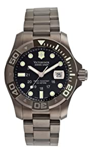 Victorinox Swiss Army Men's 241264 Dive Master 500 Ice Black Dial Watch image