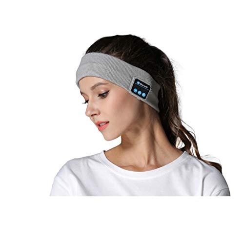 Preisvergleich Produktbild Schlafmaske Musik Augenmaske 4.2 Drahtloses Schlaf Augenmasken Musikanruf Bluetooth Headset Bett Mit Schweißfestem Mikrofon, Grau