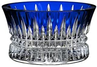 cobalt blue crystal bowl