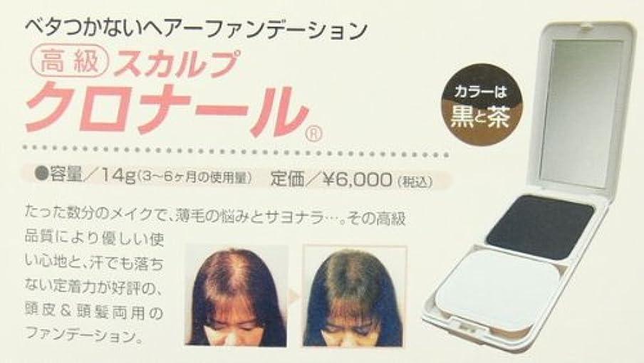 利点差別平らにする男女兼用 増毛スカルプクロナール (黒?茶) (黒)