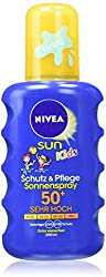 Nivea Sun Kids Schutz & Pflege Sonnenspray, Lichtschutzfaktor 50+, 200 ml