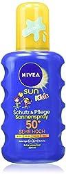 Nivea Sun Kids Protection & Care Sun Spray, SPF 50 +, 200 ml