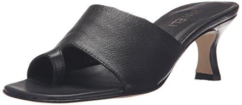 VANELi Women's Melea 329671 Dress Sandal, Black Seta Calf, 7.5 M US