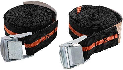 Kraftmann 359x | Spanband met snelsluiting 2,5 m x 25 mm | 2-delig.