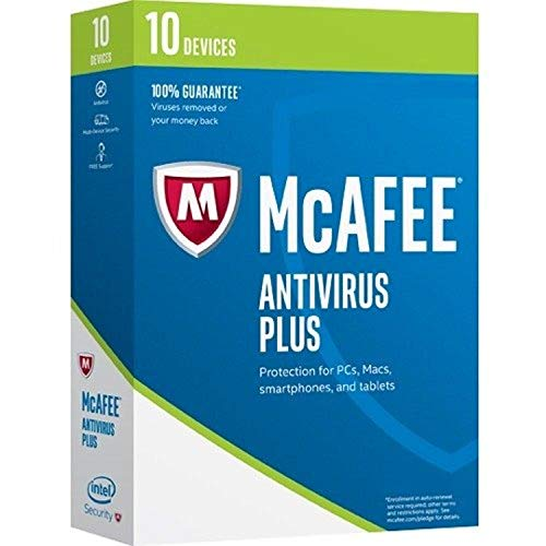 McAfee ANTIVIRUS PLUS 10-DEVIC