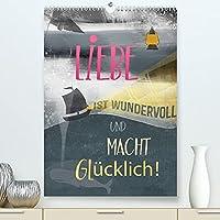 Liebe macht gluecklich (Premium, hochwertiger DIN A2 Wandkalender 2022, Kunstdruck in Hochglanz): Romantisches Organisieren, dieser Kalender macht´s moeglich! (Planer, 14 Seiten )
