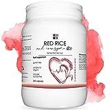 RISO ROSSO e COENZIMA Q10 HB | 360 capsule | riso rosso fermentato | con VITAMINA Q | Prodotto Italiano
