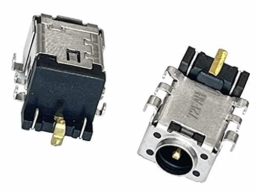 HT ImEx - Conector de fuente de alimentación CC Jack hembra de carga compatible con Asus F541UA-XX054T, F541UA-DM1737, F541UA-XX057T, F541UA-GQ1736, F541UA-XX061T, F541UA-GQ1824T