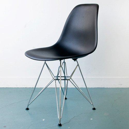 【正規輸入品】ハーマンミラー Eames Shell Side Chairs イームズシェルサイドチェア DSR/ブラック DSR.47ZAE8