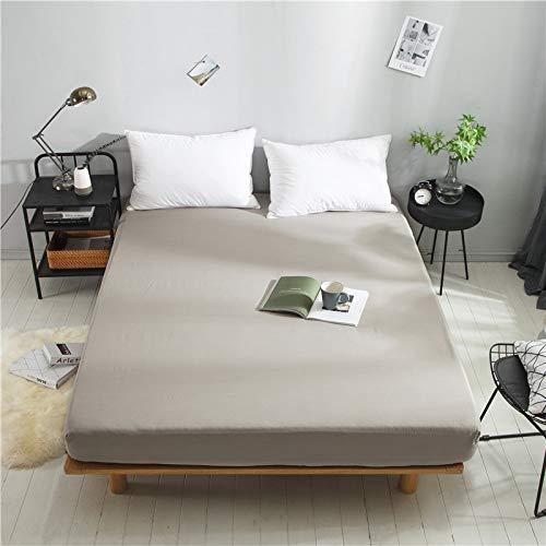 huyiming Gebruikt voor beddengoed katoen plaid effen kleur matras bescherming cover 1,8 m