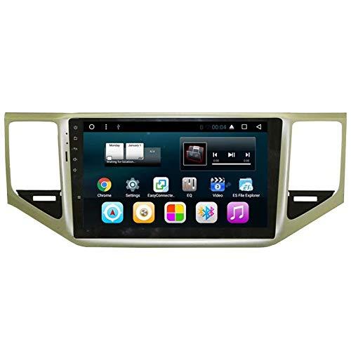 TOPNAVI 10.1 Pouce Auto Radio pour VW Sportsvan 2016 2017 2018 Android 7.1 Navigation de Voiture Stéréo WiFi 3G RDS Lien Miroir FM AM Bluetooth Audio Vidéo