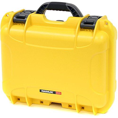 Nanuk 915 Waterproof Hard Case with Foam Insert - Yellow
