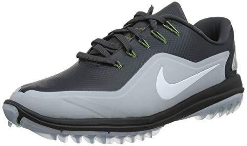 Nike Lunar Control Vapor 2, Zapatillas de Golf Hombre, Multicolor (Anthracite/White WOL 003), 43 EU