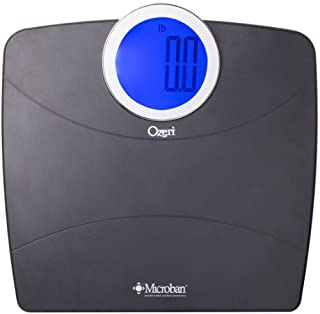 Ozeri WeightMaster Digital Bathroom Scale, with MICROBAN® Antimicrobial Product Protection (B007Z4AT0A) | Amazon price tracker / tracking, Amazon price history charts, Amazon price watches, Amazon price drop alerts