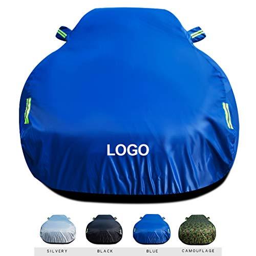 Telo Copriauto Funziona con la Fiat Bravo Copertura per Auto/Car Cover Protezione Contro Le intemperie Impermeabile da Pioggia Polvere Vento Sole UV,D