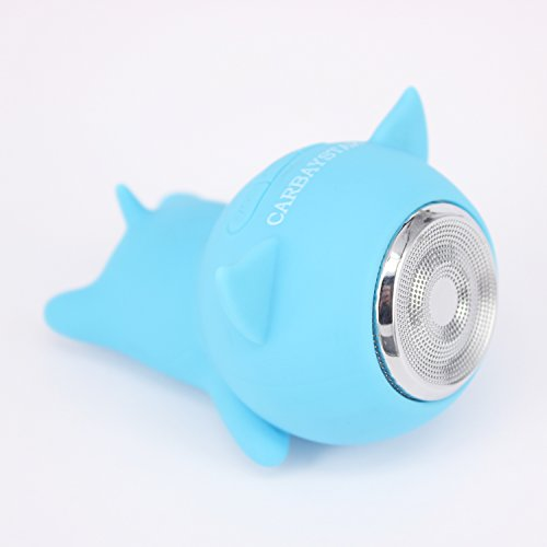 Lowest Prices! CARBAYSTAR Waterproof Blue Pig Shape Wireless Bluetooth, Outdoor & Shower Mini Speake...