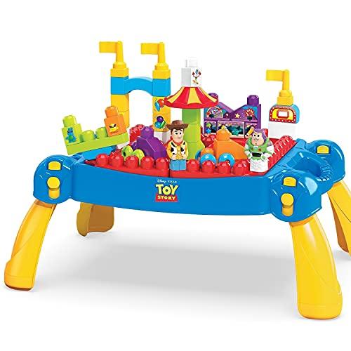 Mega Bloks Disney Mesa De Construção De Carnaval Toy Story
