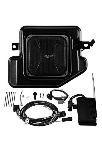 Kicker SRAMCQ09 Powered Subwoofer Upgrade Kit for 2009-2016 Dodge Ram Crew Cab or Quad Cab