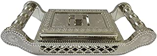 Dry Fruit box serving tray decorative platter beautiful snacks box - Multi Purpose Container To Store Dry Fruits, Namkeen, Biscuits, Choclates & Snacks,Valentine Day Gifts