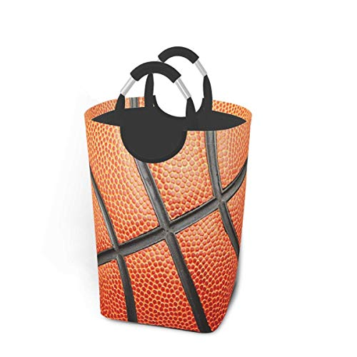 N\A Canasta de lavandería con diseño de Baloncesto de Moda con Asas Organizador Grande Plegable Cesto de lavandería para habitación de niños Ropa Sucia Juguetes