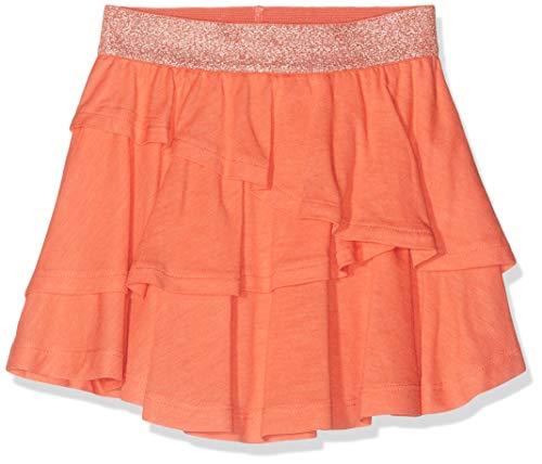 NAME IT Baby-Mädchen NMFVILLA SKIRT H Rock, Orange (Emberglow), (Herstellergröße: 92)