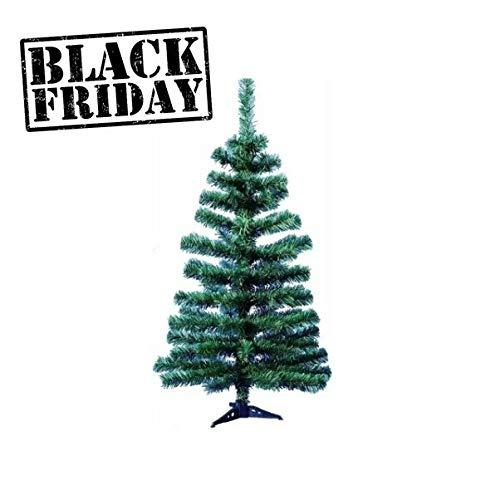 Árvore Pinheiro De Natal Verde Natalina 90cm Para Apartamento ou Mesa