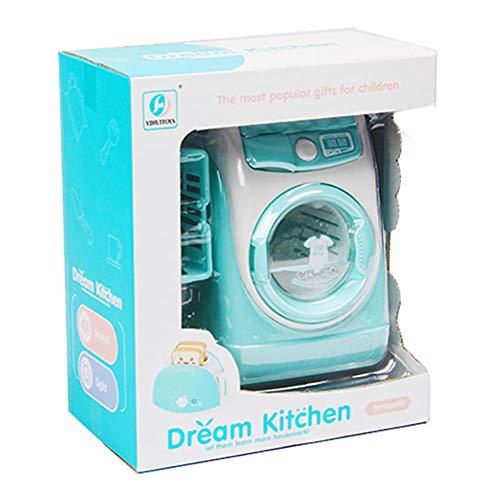 Forart Lavatrice giocattolo baby house mini lavanderia gioco mini mini giochi di ruolo mini simulazione casa delle bambole mobili per bambini