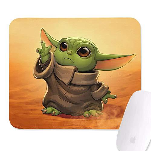Cute Cheap Mouse Pad Under 5 Dollars, Cute Anti-Slip Waterproof Mousepad Alien Design Mouse Mat Suitable for Home, Game, Office Primitive