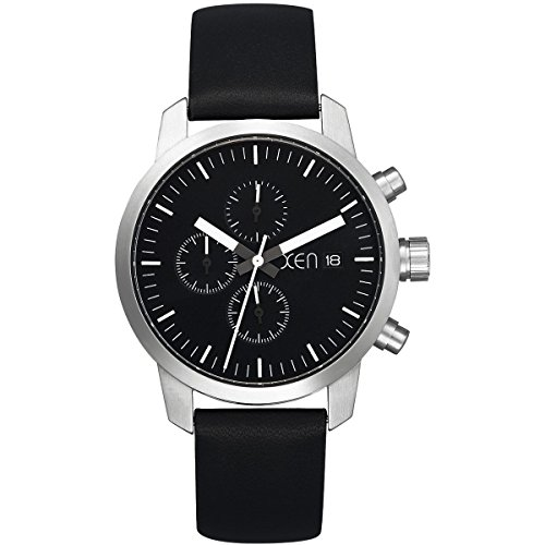 Xen Herren-Armbanduhr XL Chronograph Quarz Leder XQ0170