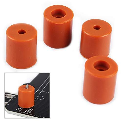 Pads Nivelliersäulen Zubehör Ersatz-Kit-Set für 3D-Drucker Ender-2 / Ender 3 / CR-10-Druckerteile